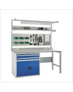 System Tek Workbenches - 1x 900mm Cabinet