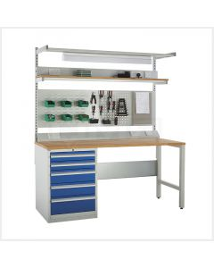 System Tek Workbenches - 1x 600mm Cabinet