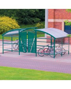 Compound Cycle Shelters