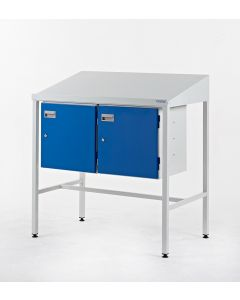 Team Leader Workstations - Double Cupboard